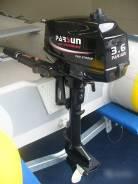 Подвесной лодочный мотор Parsun Golfstream T3.6 BMS, оф. дилер МОТО-ТЕХ
