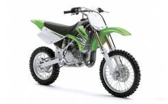 Мотоцикл Kawasaki KX85 I (2 тактный) зеленый,Оф.дилер Мото-тех, 2016