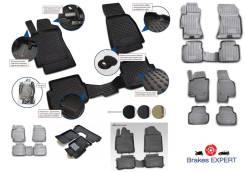 Комплект резиновых автомобильных ковриков в салон ВАЗ 2114, 4 шт. (полиуретан) [NLC5209210]