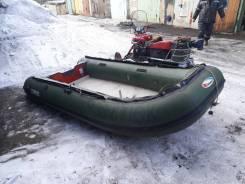 Лодка ПВХ Stingray мотор Tohatsu m15e2