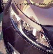 Реснички на фары KIA Sportage (Киа Спортейдж) 2010-2014г.