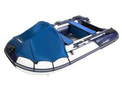 """Моторная лодка ПВХ Gladiator C 420 DP Оф. дилер """"Хищникъ"""""""