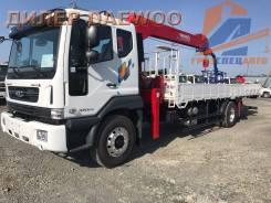 Daewoo Novus. 8 тонн c краном манипулятором Horyong 206 -2018, 5 890куб. см., 4x2