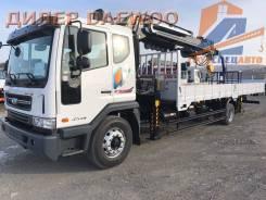 Daewoo Novus. 7 000 тонн с КМУ HIAB 160 с буровой установкой 2017 год, 5 890куб. см., 4x2. Под заказ