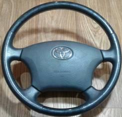 Руль Toyota (кость) кожа