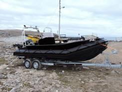 Лодка из ПНД Арктика