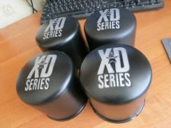 Колпаки KMC XD на литье. Стаканы - заглушки на ЦО. Черные