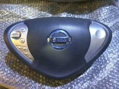 Подушка безопасности водителя. Nissan Leaf