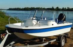Катер пластиковый Wyatboat WB-430DC Тримаран (новый)