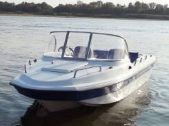 Катер пластиковый Wyatboat WB-430M Тримаран (новый)
