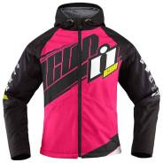 Мотокуртка Женская Icon TEAM MERC Jacket Розовая M3MOTO