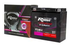 Мото аккумулятор RDrive eXtremal Iridium YT14B-4 (YT14B-BS)