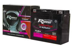 Мото аккумулятор RDrive Iridium YT12B-4 (YT12B-BS)