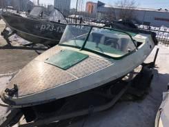 Продам лодку Акула 4.3 м