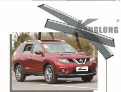 Ветровики оригинальные Nissan X-Trail 2014 - н. в. + Подарок