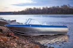 Лодка алюминиевая Тактика-490