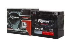 Мото аккумулятор Rdrive Silver YTX12-BS 10 А/ч