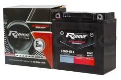 Мото аккумулятор Rdrive eXtremal Silver 12N9-4B-1 9,45 а/ч