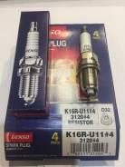 Свеча зажигания Toyota Denso K16RU11 Комплект 4 ШТ Япония