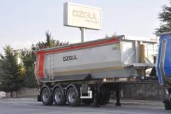Ozgul. Самосвальный полуприцеп объем 32м3, 29 000кг.