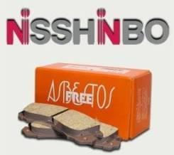 Тормозные колодоки Nisshinbo PF3348 Canter FE301/311/331/305/315/335. Mitsubishi Fuso Canter Mitsubishi Rosa, be436e, be437, fe301, fe311, fe321, fe33...