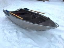Лодка алюминиевая Тактика-390РМ от официального дилера в Новосибирске