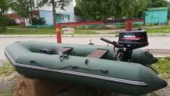 ПВХ лодка с моторм
