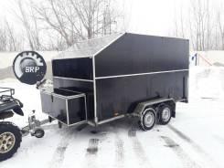 Прицеп Вектор ЛАВ 81013А для 2-х снегоходов