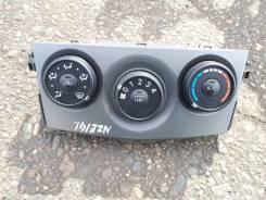 Блок управления климат-контролем Toyota Corolla Fielder NZE141.1NZFE.