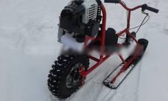Снегокат с мотором, 2020