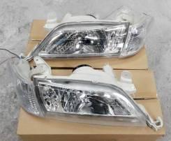 Комплект Фары +габариты Хрусталь Toyota Carina 210 211 215 (98-01г)