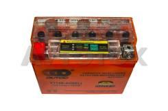 Мото аккумулятор Outdo YT12B-4-I(индикатор) 10а/ч п. 125а АвтоТок