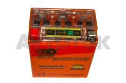 Мото аккумулятор Outdo YB12A-BS-I(индикатор) 12a/ч п. 110а