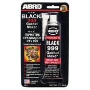 Герметик прокладок 999 силиконовый OEM черный 85г (до +343 градусов) 912-AB-R ABRO