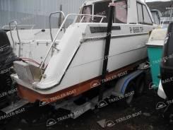 Направляющие для удобства погрузки лодки с воды на прицеп .