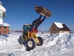 Вывоз снега. Чистка и уборка снега. Фронтальный погрузчик 1.8м3/3000кг.