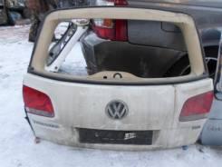 Дверь багажника. Volkswagen Touareg, 7L6, 7L7, 7LA Двигатели: BAC, BLK, BPD, BPE