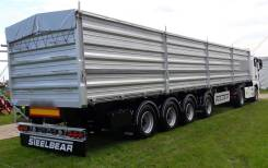 Steelbear. Полуприцеп зерновоз 4х-осный 60м3, вес 8тонн , 36 000кг.