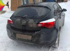 Реснички на задние фонари Opel Astra J 2009- хэтчбек опель астра джей