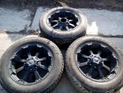 """2 Колеса Ballistic off-road 845 Morax Flat Black. 9.0x20"""" 5x150.00 ET12 ЦО 110,0мм."""