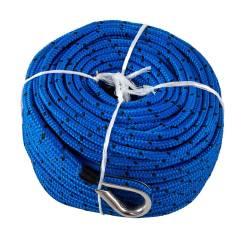 Шнур плетеный L30 для якоря, 6мм