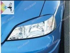 Реснички на фары для Opel Astra G (опель астра джи)