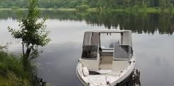 Алюминиевая моторная лодка UMS-470 с Yamaha 70