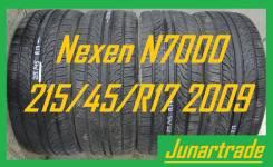 Nexen N7000. летние, 2009 год, б/у, износ 5%