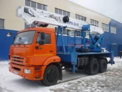 Випо-32. Автогидроподъемник ВИПО-32-01 шасси Камаз-43253 (4x2), 32,00м.