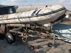 Продам лодкуSuzumar с прицепом и мотором Tohatsu