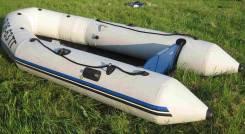 Лодка моторная, 5 мест, 3,5м, ПВХ (Франция) + мотор Suzuki 15DT 15л/с
