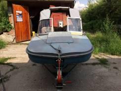 Продам моторную лодку Обь 3 с прицепом