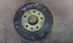 Тормозной диск передний, Mazda Atenza, Atenza Wagon, Mazda6 (273 ММ)