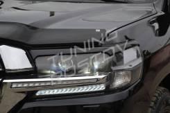 Накладка на фару. Toyota Land Cruiser, URJ200, URJ202, URJ202W, VDJ200 Двигатели: 1URFE, 1VDFTV